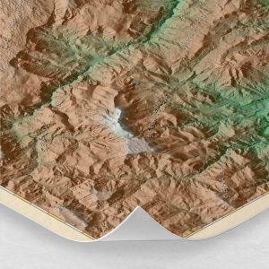 Ampliación del mapa de los Calares del Mundo y de la Sima