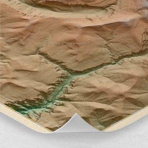 Ampliación del mapa de Ordesa y Monte Perdido