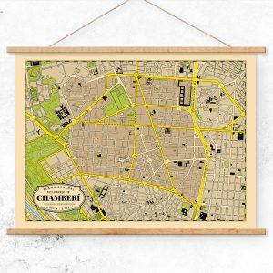 Plano del Barrio de Chamberí de Madrid