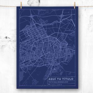 Mapa de estilo Blueprint para personalizar