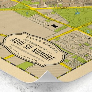 Detalle del plano de Barrios para personalizar