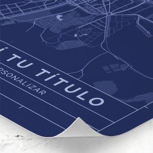 Detalle del mapa de estilo Blueprint para personalizar