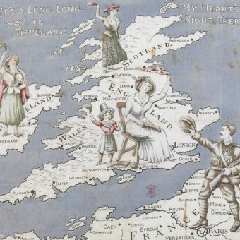 Mapas y el siglo XX: Marcando las fronteras