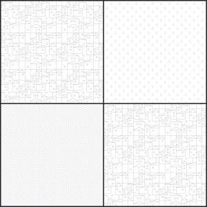 Village: Mapa para pueblos. Motivos o Patterns