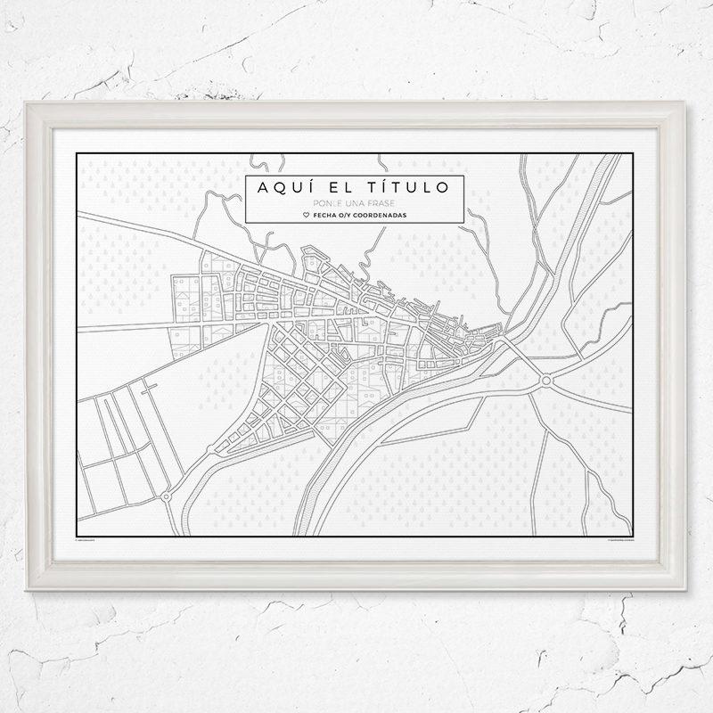 Village: Mapa para pueblos. En versión horizontal