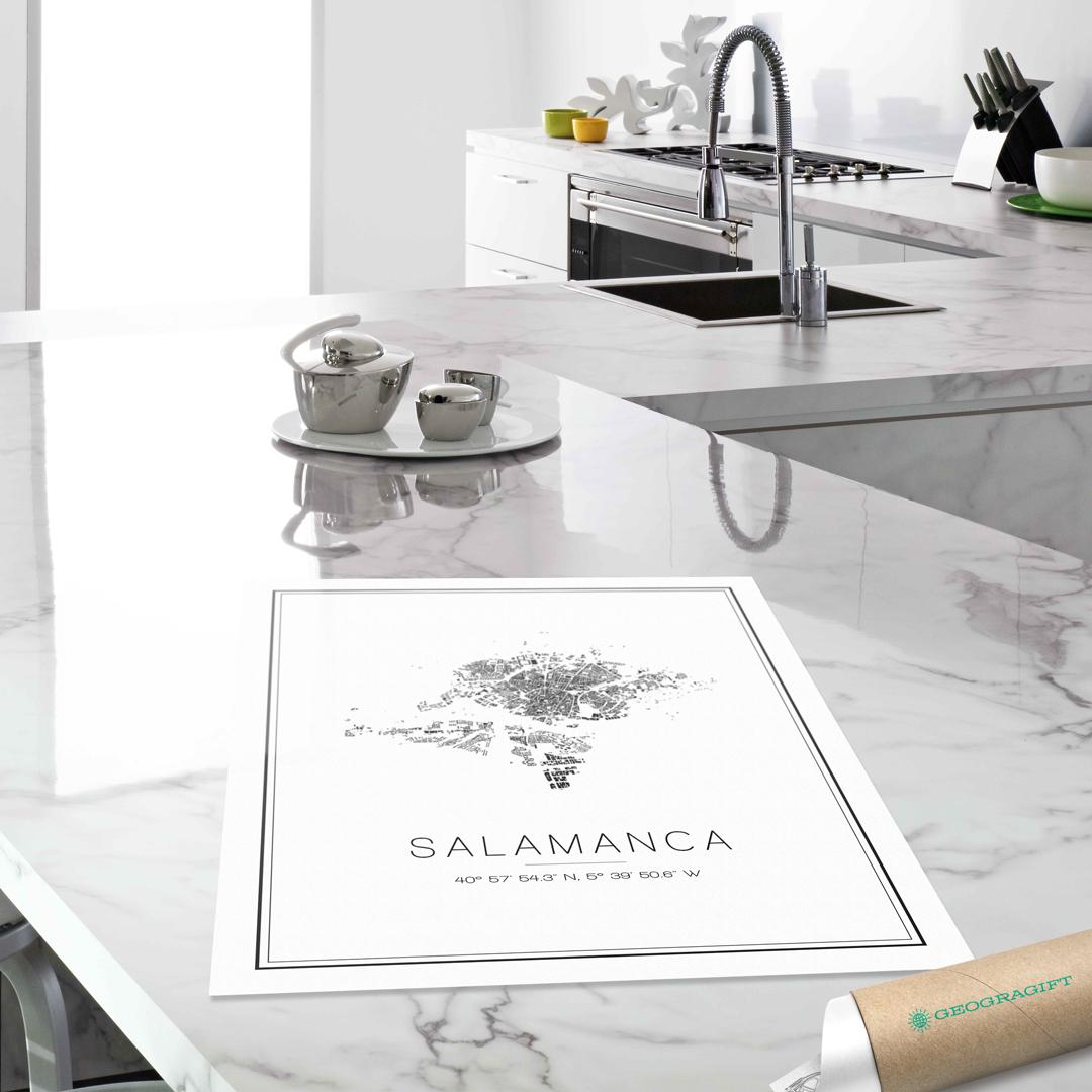 Mapas minimalistas con la estética del no acabado