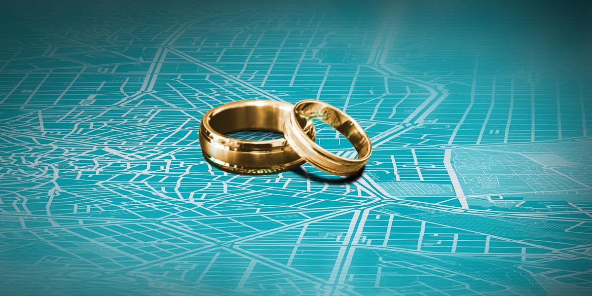 Un regalo de boda único y diseñado por ti, para inmortalizar el momento más inolvidable de los novios o los lugares más importantes para ellos.