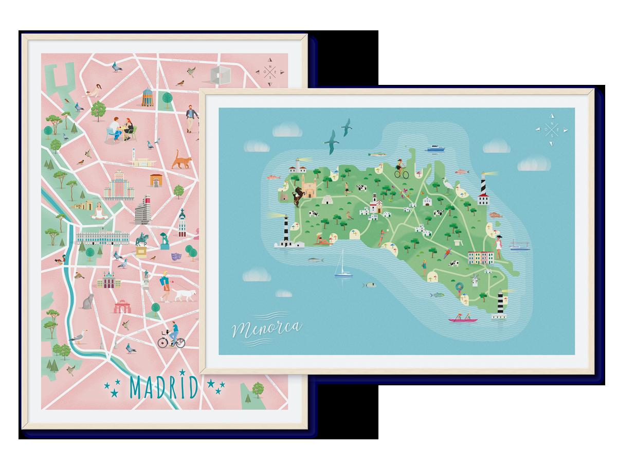 Geogragift Tienda De Mapas Mapas Personalizados Regalos